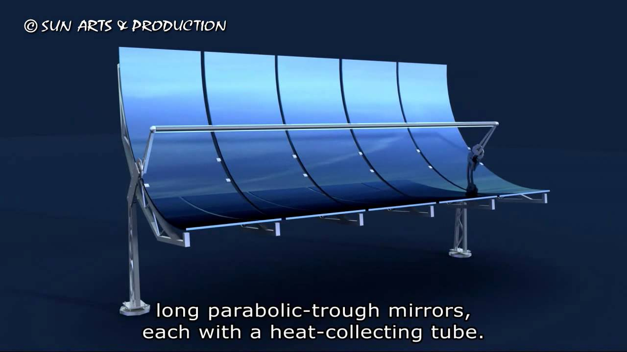 Sun Arts S01e01 Parabolic Trough - Youtube