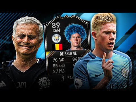 WORLD CLASS KEVIN DE BRUYNE BEST PLAYER IN THE PREMIER LEAGUE MANCHESTER CITY SQUAD! FIFA 17