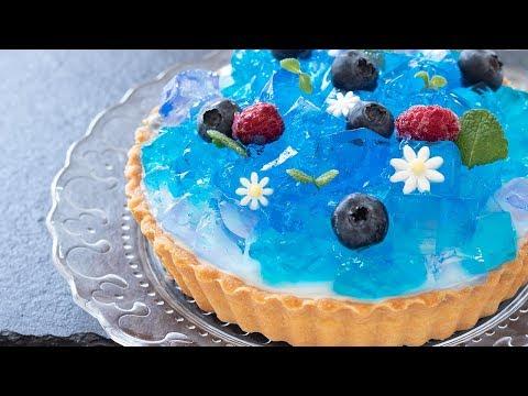 紫陽花ゼリータルトの作り方 Hydrangea jelly tart|HidaMari Cooking