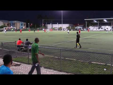 Academy SC vs Cayman Athletic SC (Cayman Premier League) 30/04/17 Part 1
