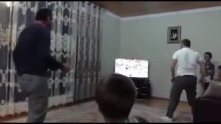 Эмоции Дагестанцев при победе Ингушского борца дзюдо на олимпиаде 2016 год