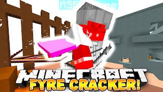 Minecraft - FYRE CRACKER MINI-GAME #1 - w/ THE PACK!