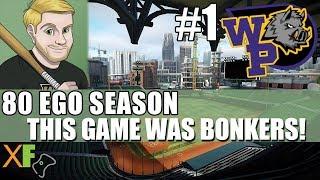 This game was BONKERS! Super Mega Baseball 2 80 Ego Season Wild Pigs Game 1