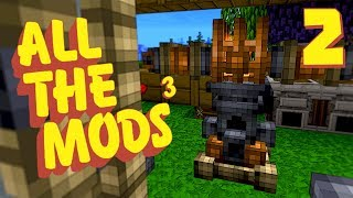 Minecraft All The Mods 3 #2 [Modded Survival]