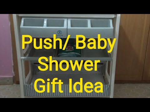 Push or Baby Shower Gift Idea 2020/ Gift Ideas/Expectant or New mom's Gift #Babyshower #Newborn