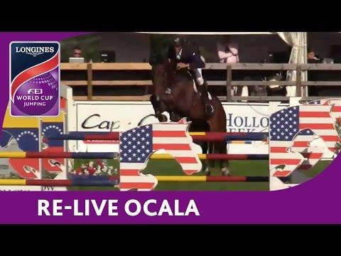 RE-LIVE | Ocala | Longines FEI World Cup™ Jumping 2016/17 NAL | Hollow Creek Longines W. Ranking Qf.