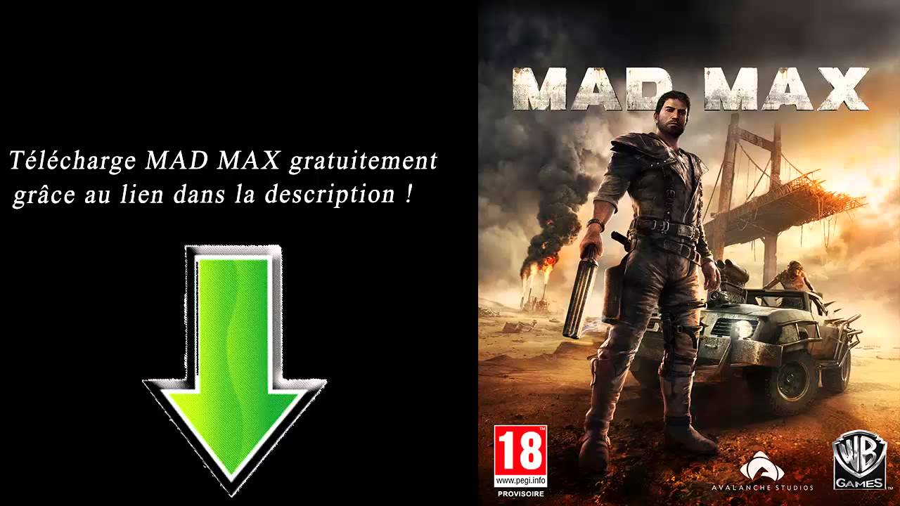 mad max jeux pc disponible youtube. Black Bedroom Furniture Sets. Home Design Ideas