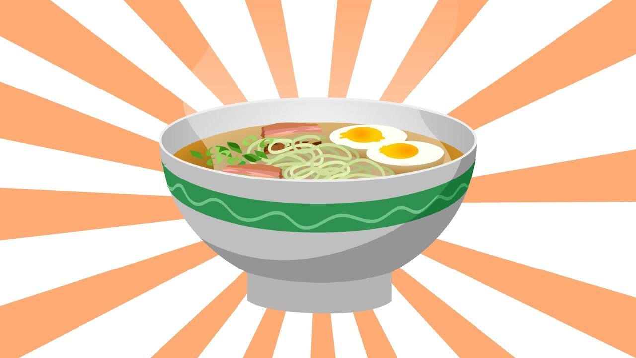 GreeNoodle - Ramen Noodles Made with Moroheiya (Animation)