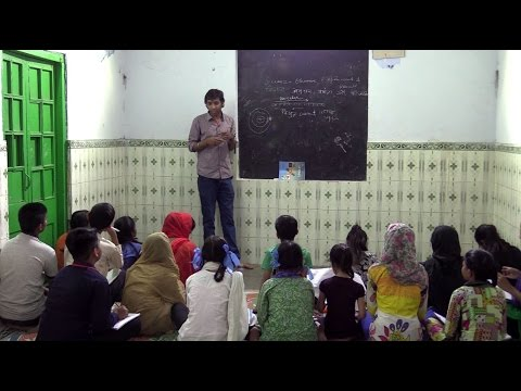 Exclusive: How a DU college is bringing positive change in the lives of neighbourhood Basti kids