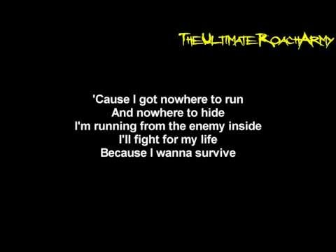 Papa Roach - The Enemy {Lyrics on screen} HD