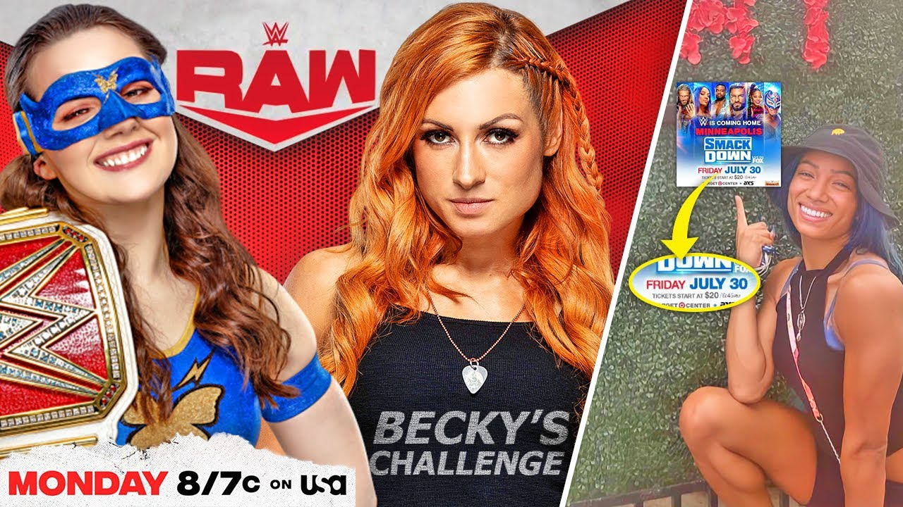 Nikki Ash ACCEPTS Becky Lynch's Challenge! Sasha Banks ADVERTISED! Randy Orton REMOVED From Roster!