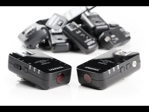 Yongnuo RF 603 and RF 622 triggers for Fuji X cameras