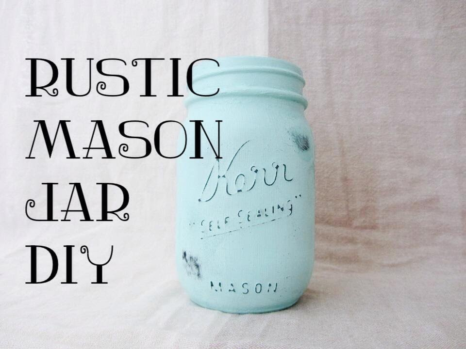 100 Subscribers And Rustic Mason Jar Diy Youtube