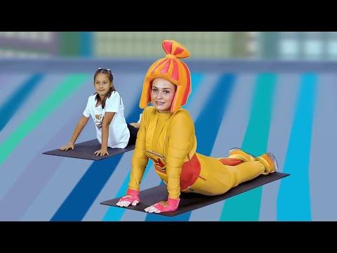 Фитнес для детей видеоуроки
