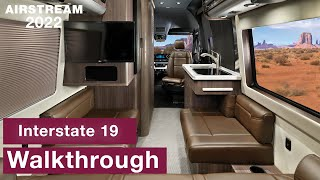 Airstream 2022 Interstate 19 Touring Coach Walkthrough