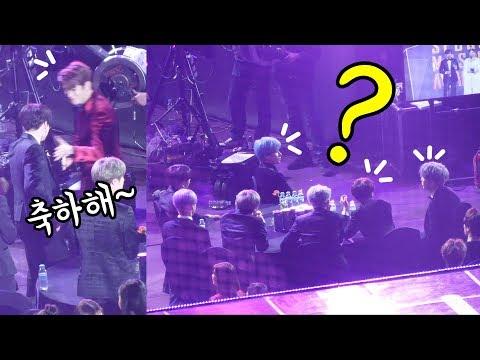 [ENG] BTS : 리액션 reaction (정국 JungKook, 재현 JaeHyun) : NCT127 본상 수상 Main Prize : Edited fancam : 고척돔