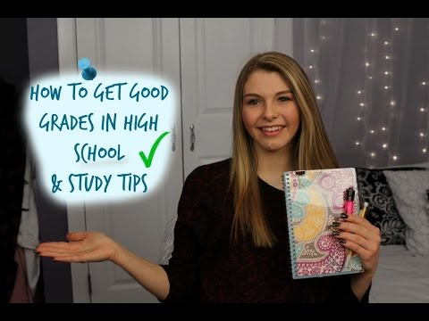 How To Get Good Grades Study Tips