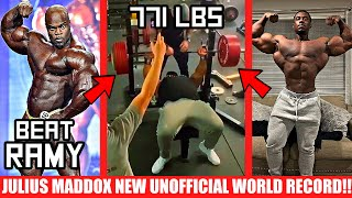 Julius Maddox NEW Unofficial World Record + Brandon's Plan to Beat Big Ramy + Steve Laureus GAINS