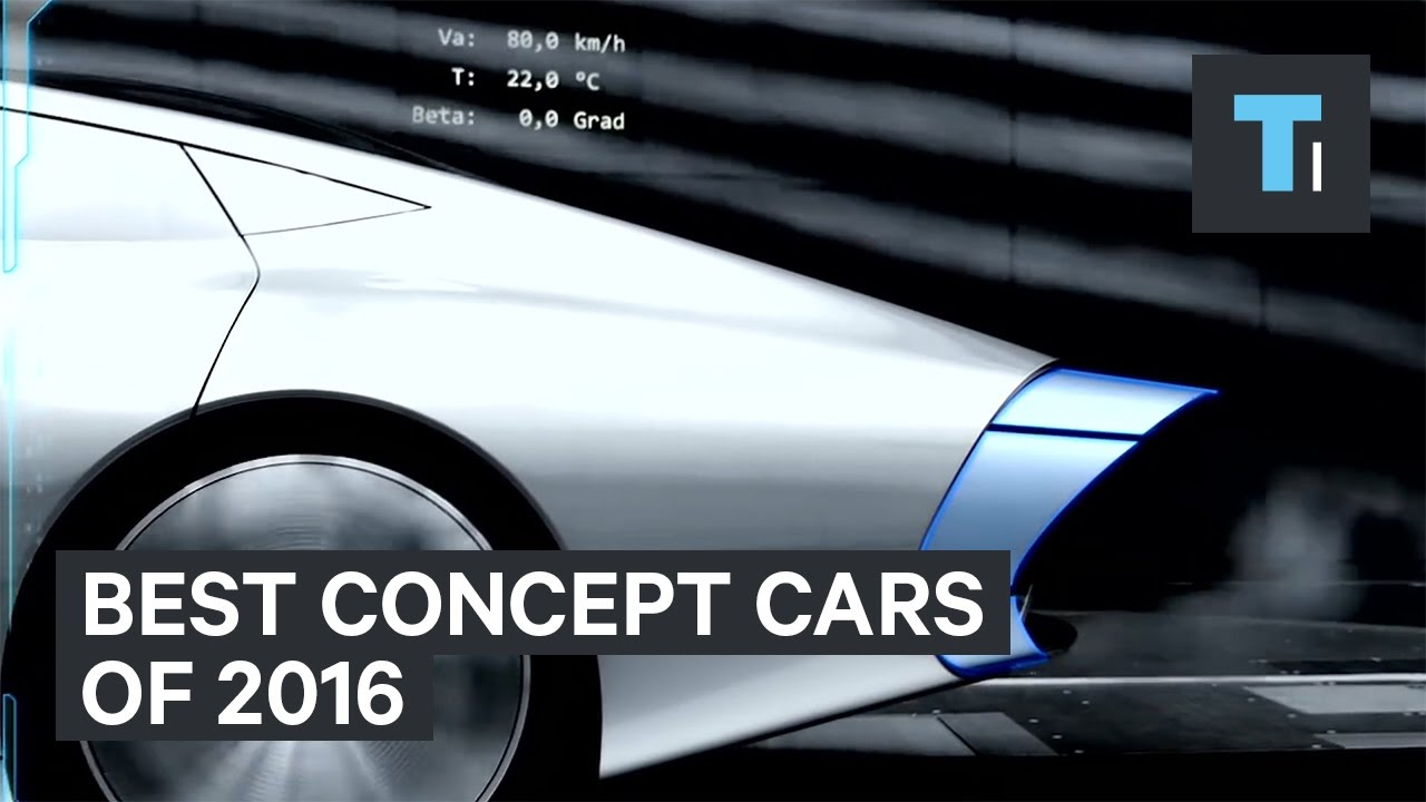 10 Best Concept Cars Of 2016
