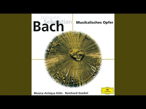 J.S. Bach: Musical Offering, BWV 1079 - Canon a 2