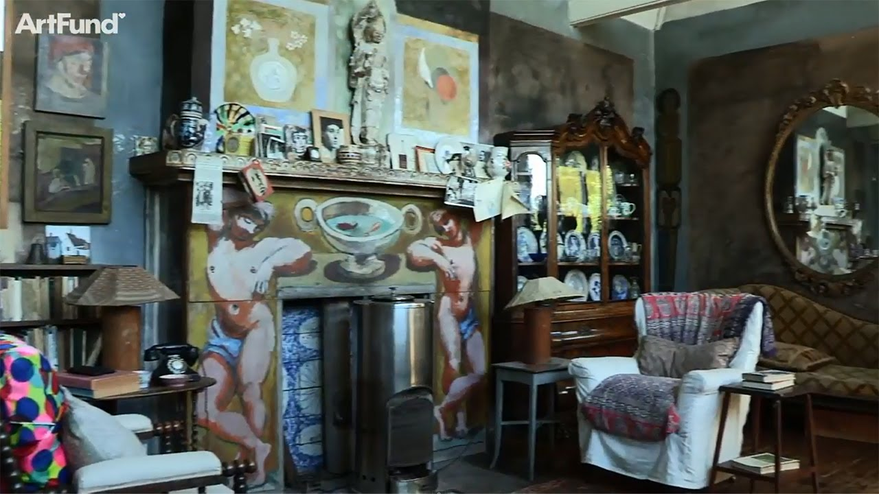 Art Happens Charleston The Worlds Only Complete Bloomsbury Interior Youtube