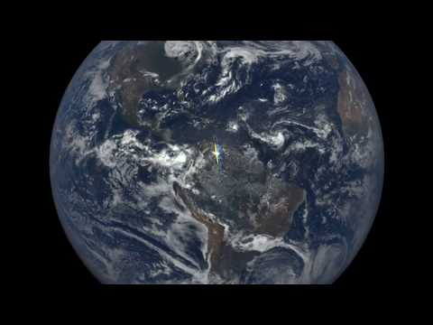 Satellite Captures Light Flashes in Earth's Atmosphere | Video