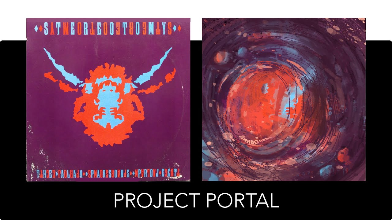 Project Portal - Vinyl Record Album Cover Art