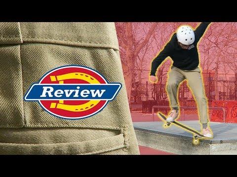 👖 DICKIES Review for SKATEBOARDING 👖
