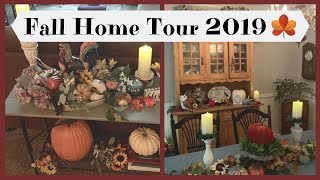 Fall Home Tour 2019 🍁Warm and Cozy 🍁