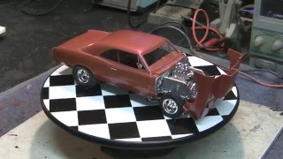 "'66 Chevy Malibu SS ""Street Rat"" 1:24th Scale Model Finished"