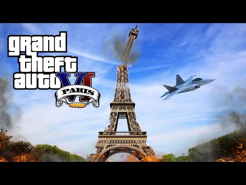 Grand Theft Auto VI - Paris City (Parodie GTA6)