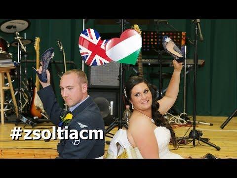 Magyar-angol esküvők Zsoltival