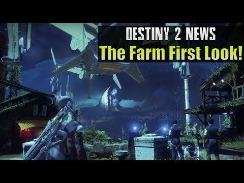 Destiny 2 News! - NEW Farm Social Space...