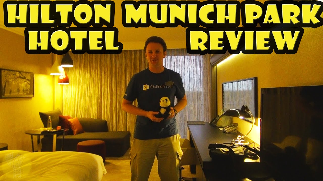 hilton munich park hotel review youtube. Black Bedroom Furniture Sets. Home Design Ideas