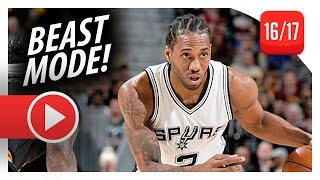 Kawhi Leonard Full Highlights vs Cavaliers (2017.01.21) - 41 Pts, 6 Reb, BEAST MODE!