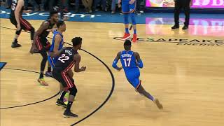 Oklahoma City Thunder vs Miami Heat | January 17, 2020