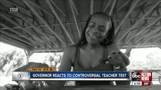 """FL Governor vows to look into teacher certification issues and fix """"testing for test sake."""""""