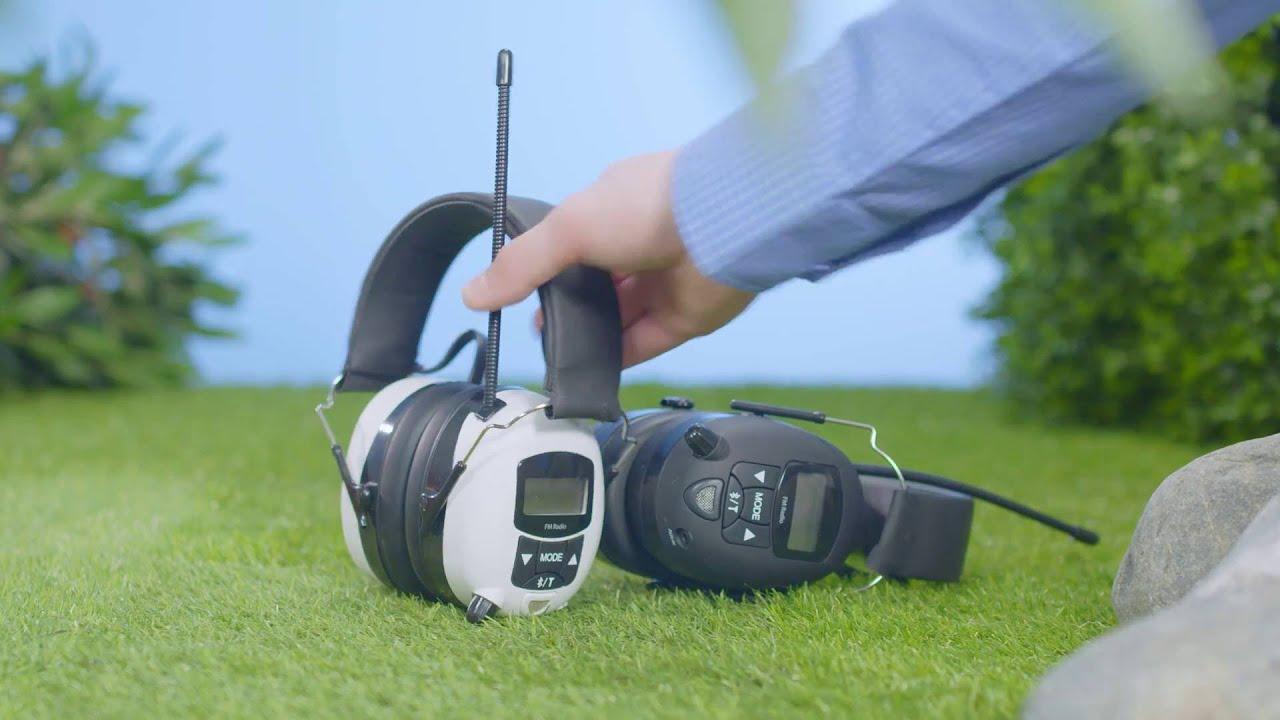 Splitter nya Hörselskydd med radio och Bluetooth - Clas Ohlson - YouTube AF-26