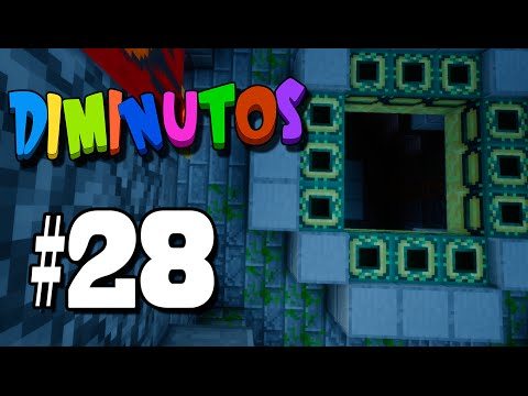 EL PORTAAAAAAAAAAAL ! | #DIMINUTOS4 | Episodio 28 | Minecraft Supervivencia | Willyrex y sTaXx