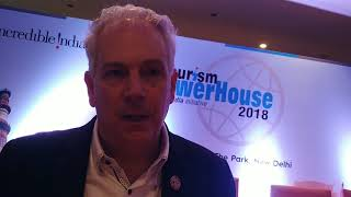 Talk with CEO PATA Dr Mario Hardy at Tourism Powerhouse India Chapter