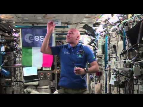 ISS Astronaut Luca Parmitano discusses life in space on BBC's World News