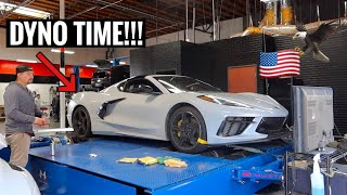 GETTING THE C8 CORVETTE READY FOR TWIN TURBOS!!!