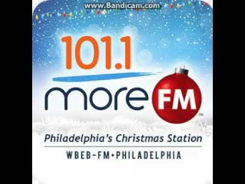 25 days of christmas radio 2017 day 6 wbeb 1011 more fm station id december 6 2017 503pm - Christmas Radio Station Fm