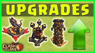 Clash of Clans - DEFENSE UPGRADE ORDER STRATEGY - Townhall, Defense Base & Troops Upgrade Order