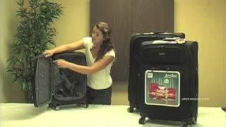 Jourdan Lightweight 3-Piece Expandable Upright Spinner Luggage Set Thumbnail