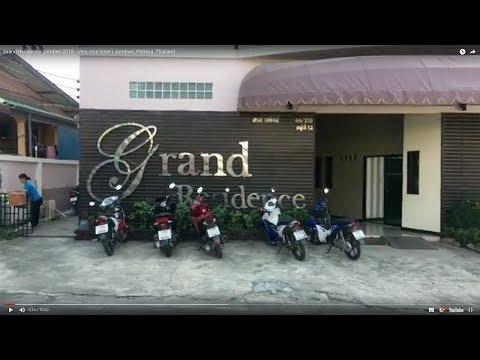 Grand Residence Jomtien 2018 – Very nice hotel in Jomtien, Pattaya, Thailand