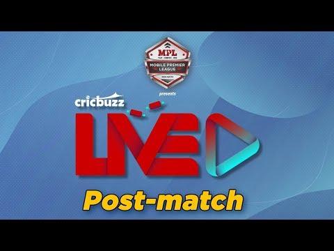 Cricbuzz LIVE: Match 50, Chennai v Delhi, Post-match show