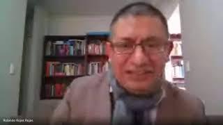 Rolando Rojas en Congreso Internacional virtual A puertas del Bicentenario