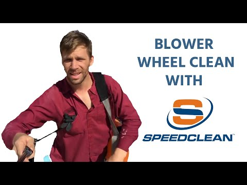 SpeedClean; Blower Wheel and Evaporator Clean