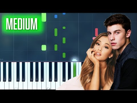 """God Is In My Blood"" Ariana Grande & Shawn Mendes Duet Piano Tutorial - Chords - How To Play - Cover"